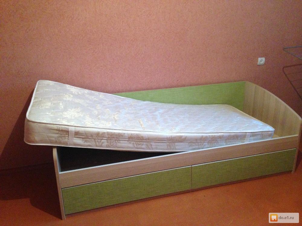 Детская подростковая кровать Лотос Размеры спального места: Ширина: 90см. Длина: 190см