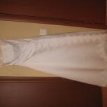 Свадебное платье  белое с открытыми плечами, Екатеринбург