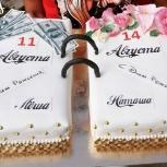 Домашние торты на заказ красивые и вкусные, Екатеринбург