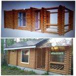Строительство домов, бань, лестниц из дерева, Екатеринбург