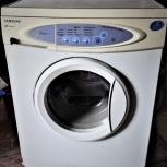 Узкая стиральная машинка SAMSUNG -3,5 кг. Хорошее состояние., Екатеринбург