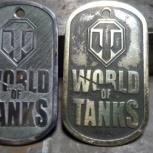 Жетоны ручной работы world of tanks, warfase, Екатеринбург