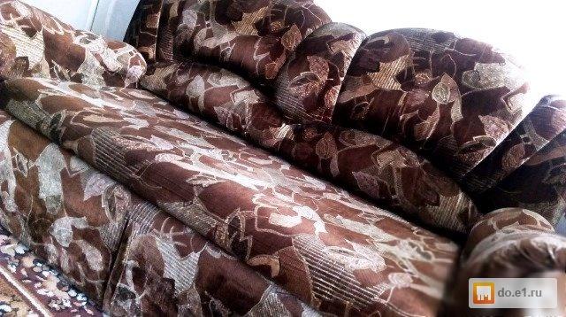 мягкий уголок диван и 2 кресла 2015 года в кировграде бу фото