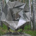 Многогранник из бетона, Екатеринбург