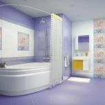 Керамическая плитка для ванной в ассортименте, Екатеринбург