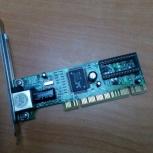 Сетевая карта 10/100 мегабит compex (Realtek) PCI, Екатеринбург