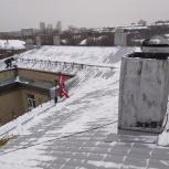Альпинисты чистка кровли от снега крыш любой сложности, Екатеринбург