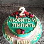 Торты, торты без сахара на заказ, Екатеринбург