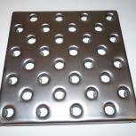 Плитка стальная напольная перфорированная, Плитка металлическая, Екатеринбург