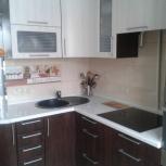 Кухня на заказ угловая вогнутый шкаф (Финист), Екатеринбург