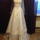 Продам свадебное платье + подъюбник и перчатки, Екатеринбург