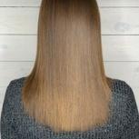 Кератиновое выпрямление. Ботокс для волос. Нанопластика волос, Екатеринбург