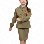 Детский военный костюм на девочку Солдаточка, Екатеринбург