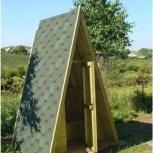 Туалет деревянный дачный, Екатеринбург