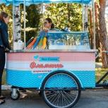 Аренда велотележки с мороженым на любое мероприятие, Екатеринбург
