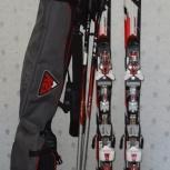 Продаются горные лыжи Atomic GS9.Ботинки Nordica Speedmachine. Палки., Екатеринбург