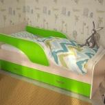 Детская кровать с ящиком Кроха-2, 80*160 см, Лайм (ТМК), Екатеринбург
