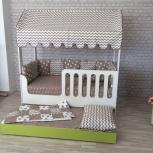 Детская кровать-домик двухъярусная выкатная, Екатеринбург