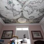 Натяжные потолки. Фотопечать на ткани DESCOR Германия, Екатеринбург