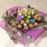 Букет из орехов и конфет к празднику, Екатеринбург