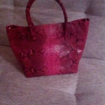 Продам сумку из кожи питона ( сумочка из меха в подарок), Екатеринбург