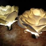 Ночник 3D Светильник роза, ночной светильник, Екатеринбург