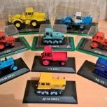 Модели тракторов, коллекция, Екатеринбург