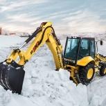 Уборка снега, Екатеринбург