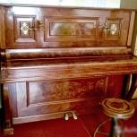 Антикварное пианино Julius Feurich, 1903 года, Екатеринбург