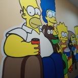 Роспись стен. Рисунки на стенах, Екатеринбург
