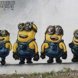 Роспись стен и граффити оформление, Екатеринбург