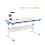 Регулируемая парта для школьника FunDesk Creare Blue, Екатеринбург