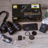 Фотоаппарат Nikon D5200 + Nikkor 35 mm и 18-55 mm, Екатеринбург