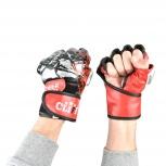 Перчатки мма черно-красные ULI 6033, Екатеринбург