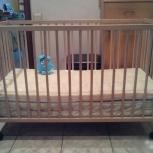 Кровать детская + два матраса, Екатеринбург