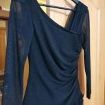 Коктейльное платье черное с люрексом, Екатеринбург