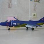 Продам модель-копию самолета Як-38 из бумаги, Екатеринбург