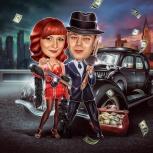 Яркий и юмористический стиль шарж для веселых и креативных людей!, Екатеринбург