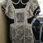 Продам комплект платье+ фартук на Последний Звонок, Екатеринбург