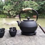 Чайник из чугуна для кипячения воды на углях 1800 мл, Екатеринбург