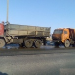 Буксировка на жесткой сцепке -(Автобусы,камазы,зилы)Грузовой эвакуатор, Екатеринбург