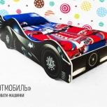Кровать детская машинка Бэтмобиль, Екатеринбург