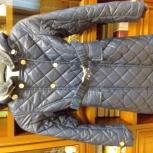 Пальто для девочки на осень, утепленное, рост 130 см, Екатеринбург