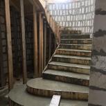 Лестницы бетонные  монолитные, Екатеринбург