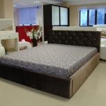 Кровать Валенсия норма со стразами 160х200 (ДР), Екатеринбург