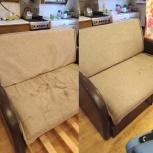 Химчистка мягкой мебели 3 посадочных места, Екатеринбург