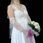 Продаю свадебный комплект: платье, фата и туфли белые!, Екатеринбург