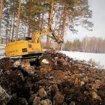 Аренда экскаватора полноповоротного с гидромолотом, Екатеринбург