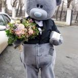 Ростовая кукла Мишка Тедди.  Детские праздники. Аниматоры, Екатеринбург