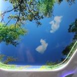Потолок Франция Многоуровневый Глянцевый,Фотопечат, Екатеринбург